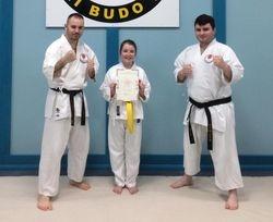 New Yellow Belt!