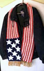 Patriotic Scarf - View 1