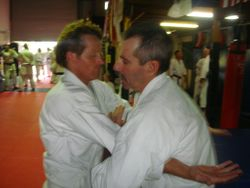 Sensei Bob with Steve from Coffs Harbour