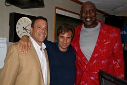 "Rob G. Sirius Radio's Chris ""Mad Dog"" Russo and The Dawk."