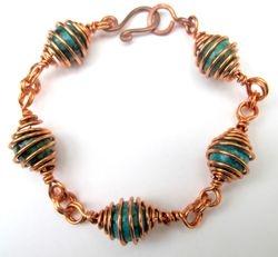 Bead Cage Bracelet