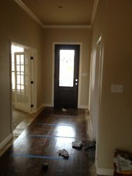 view towards front door