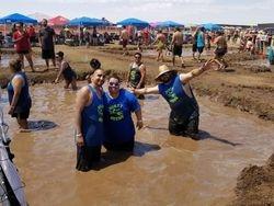 Dirt Deeds Peace Love Mud Volleyball