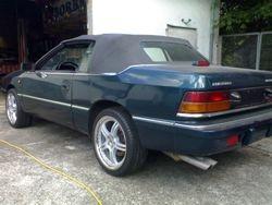 Chrysler Le Baron Cabriolet LX 3,0 V6 Serien Auspuffanlage