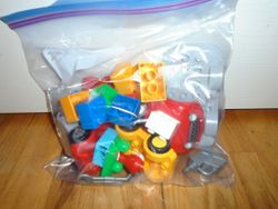 Lego DUPLO- Sets of 20 Specialty Blocks to a Bag - $12