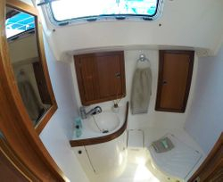 Back toilet and shower