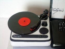 Handmade 3d Portable DJ Turntable(SP041)