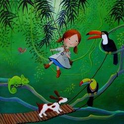Ulla In The Rain Forest