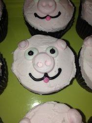 Little Piggy Cupcakes
