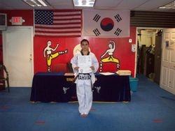 Dennise Bartra black belt class of 2011