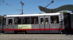 Side profile of a Breda LRV.