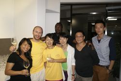 Tras la exhibición en Shanghai