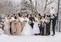 Epic wedding pic