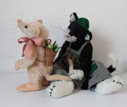 Kater Mau und Maus Marie
