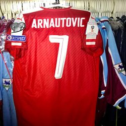 Marko Arnautovic worn Austria 2017 shirt.
