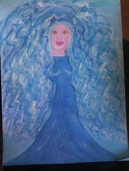 Blue Angel for Frankey by Arlene