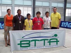 CADET winners display their medals
