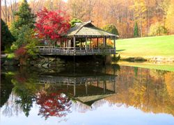 Brookside Gardens Teahouse Autumn