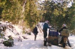 1993 Traffic jam during peak hour