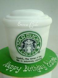 Starbucks cake (SP017)