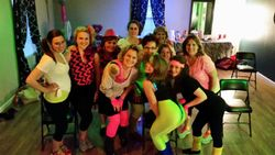 80s Chair Dance Girls Night Out Party!
