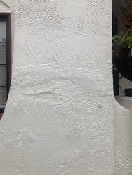 Repaired stucco