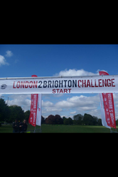 London to Brighton Start Line
