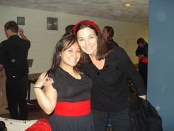 With the incredible Carol Vaness after our opera workshop performance! What an incredible soprano and teacher! :)