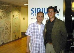With Benjamin Warren at Sirius.
