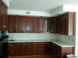 Modern Kitchen-Hazelnut cabinets