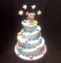 Lalaloopsy Christmas Cake