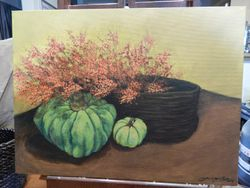 Comissioned Harvest Painting
