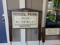Realty Model Home Signs