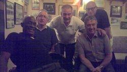 Clive Myers, Sid Cooper Frank Rimer, Lee Bronson & Steve Grey