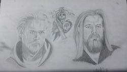 Son's of Anarchy Portait