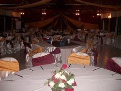 Classic wedding set up