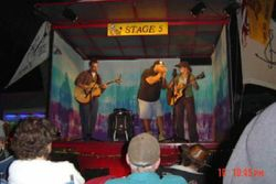 Stage 5, Walnut Valley Festival, Winfield KS, 2003