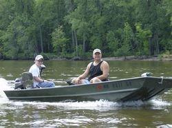 The guys went fishing in Minnesota