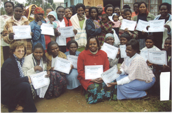 Training Women in Dandora Slums Nairobi to Work With Women in their Community.