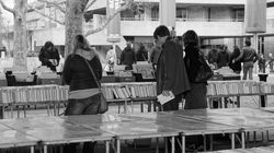 South Bank book stall, London
