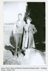 Simon Walter and Blanche Elizabeth Shirk