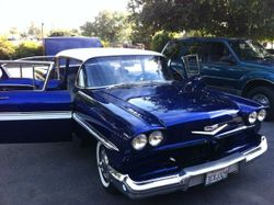 19. 58 chevy biscayne