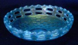 Open Edge basket, IC shape, celeste blue