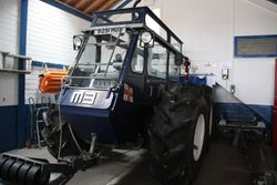 Launching Tractor