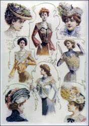 Ladies Fashions, c1914.