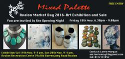 MIXED PALETTE - ART EXHIBITION and SALE 2016