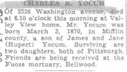 Yocum, Charles R. 1956