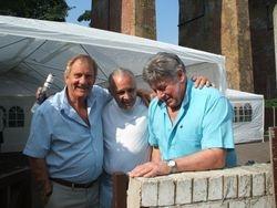 Frank Rimer, Al Miquet and Wayne Bridges