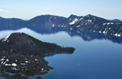 Crater Lake, Morning 3
