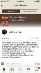 Luke Review of Deceptive Visions